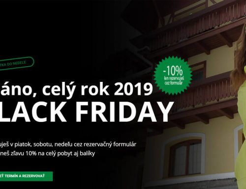 Áááno celý rok 2019 – BLACK FRIDAY